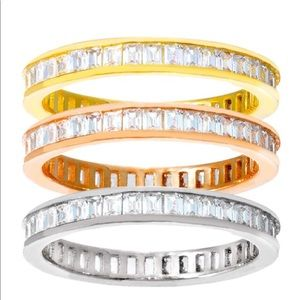 9e49b4520 Jewelry - Stacked Ring Set,Band Rings Set ,3 Rings, set of 3